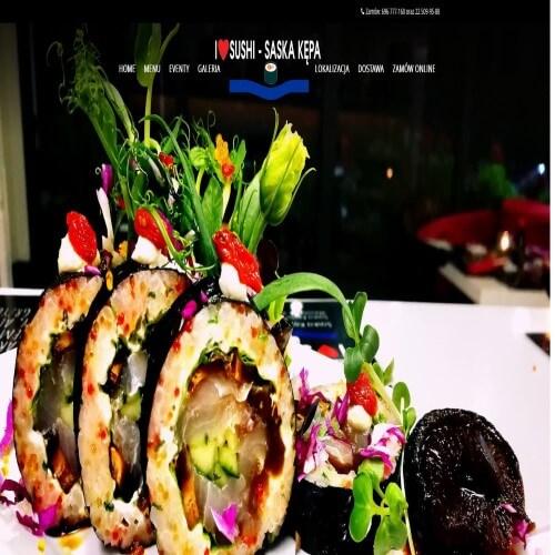 Catering - Sushi Saska Kępa