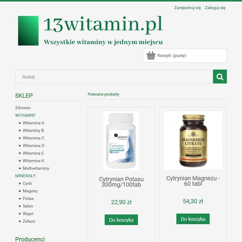 Suplementy diety z witaminą A z tranu