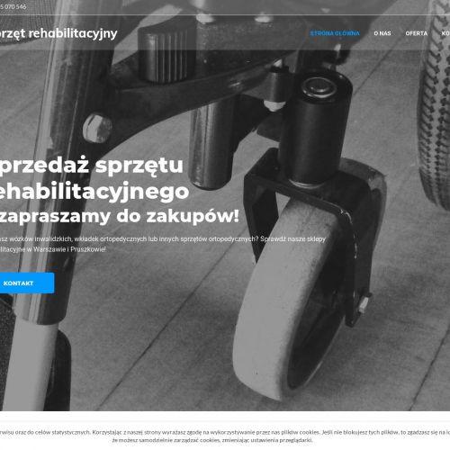 Sprzęt ortopedyczny w dobrej cenie - Warszawa