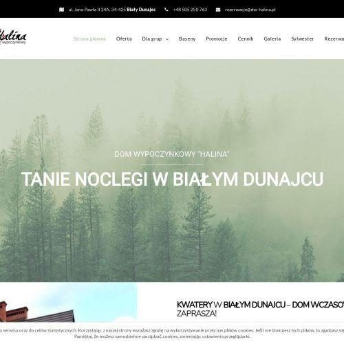 Bialy Dunajec - Noclegi