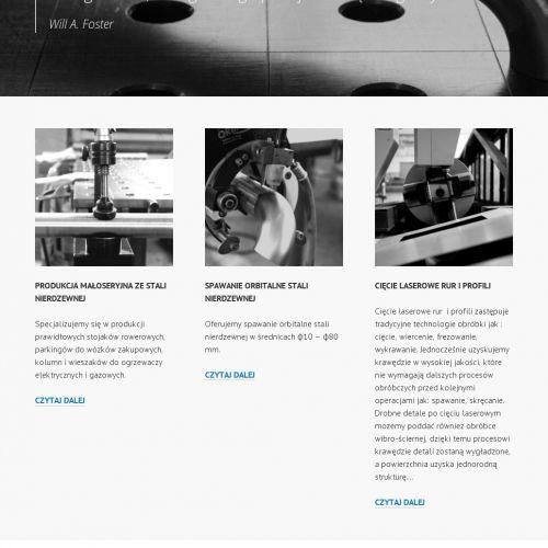 Laserowe cięcie rur i profili