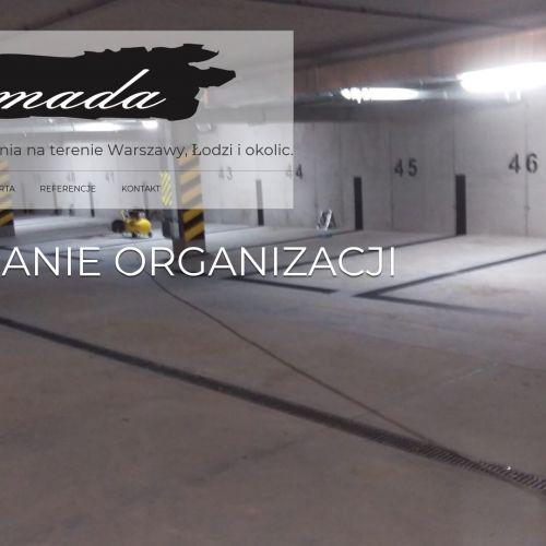 Malowanie piktogramów - Warszawa