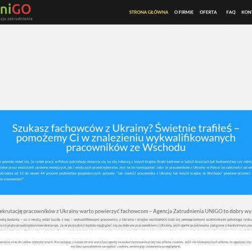 Wynajem pracowników z Ukrainy