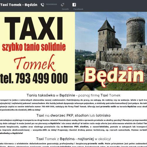 Taksówka - Będzin