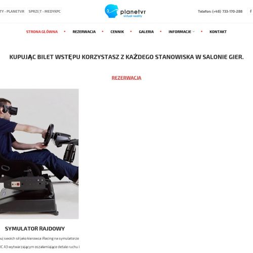 Profesjonalne symulatory VR - Poznań