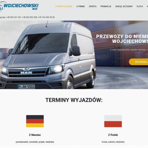 Przewóz osób z Polski do Niemiec