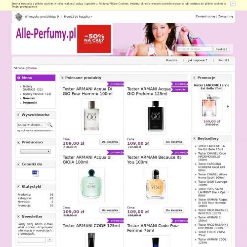 Oryginalne testery perfum