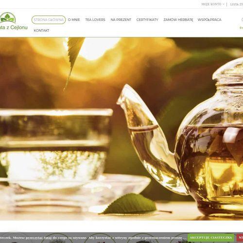 Herbaty dobrej jakości