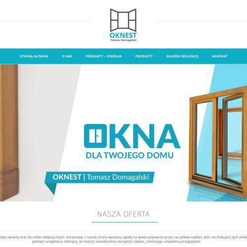 Drzwi oraz okna drewniane
