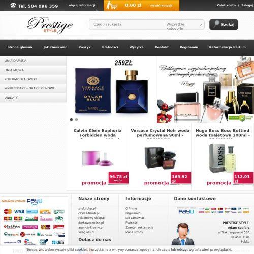 Męskie oraz damskie perfumy