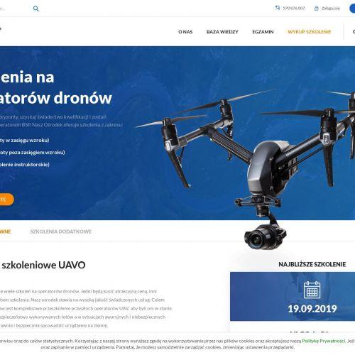 Szkolenia na drona w Rzeszowie
