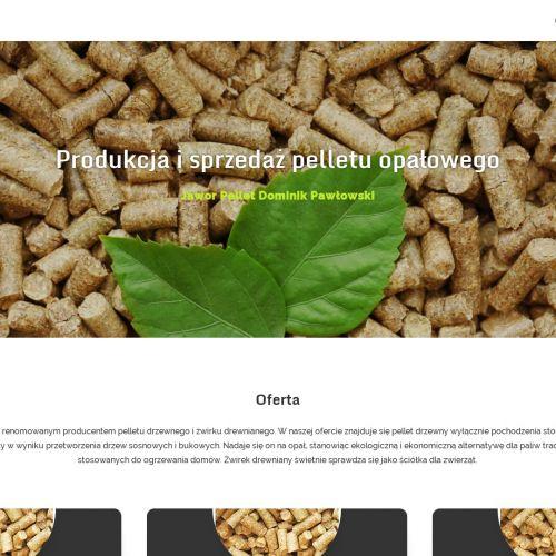 Sprzedaż pelletu drzewnego