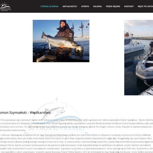 Łowienie łososia bałtyckiego