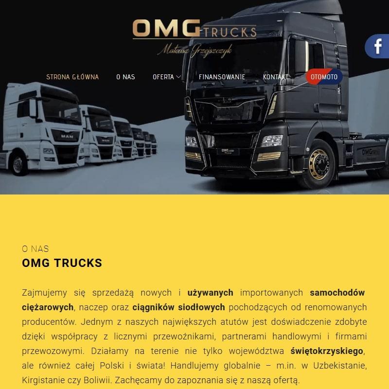 Używane samochody ciężarowe Scania