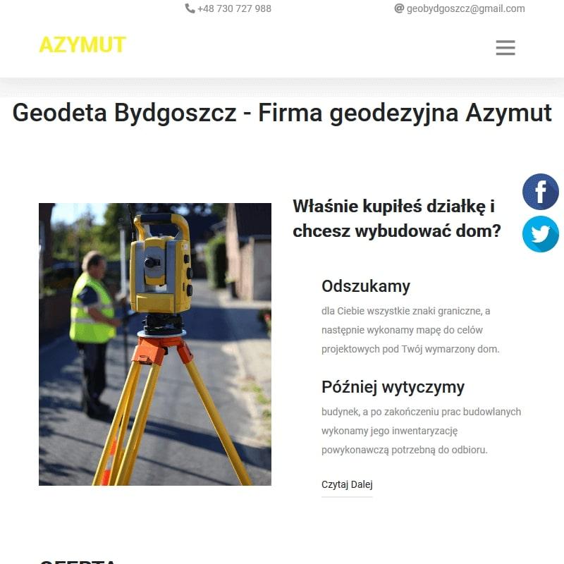 Firma geodezyjna Azymut