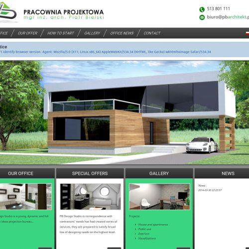 Projekty domów i budynków biurowych
