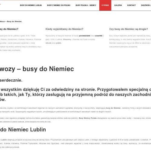 Przejazd z Polski do Niemiec z Bełchatowa