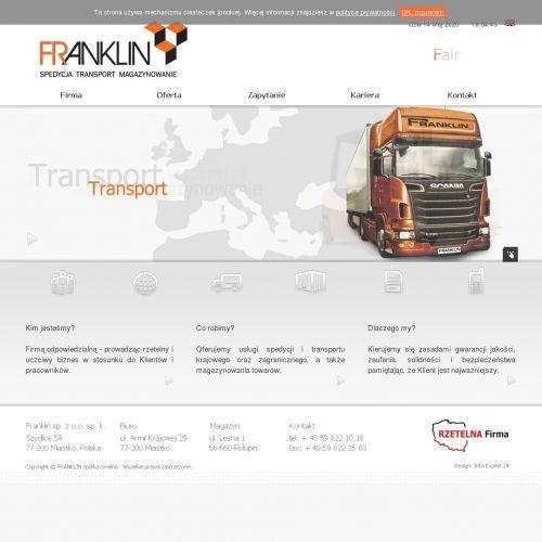 Krajowy transport materiałów standardowych