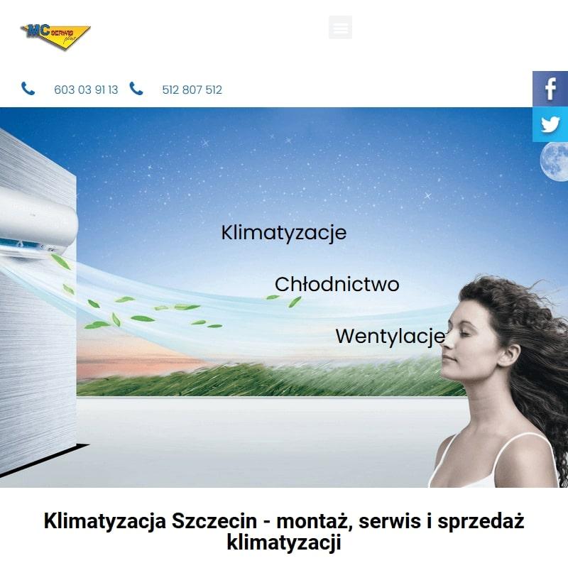 Serwis klimatyzacji w Mierzynie i Goleniowie