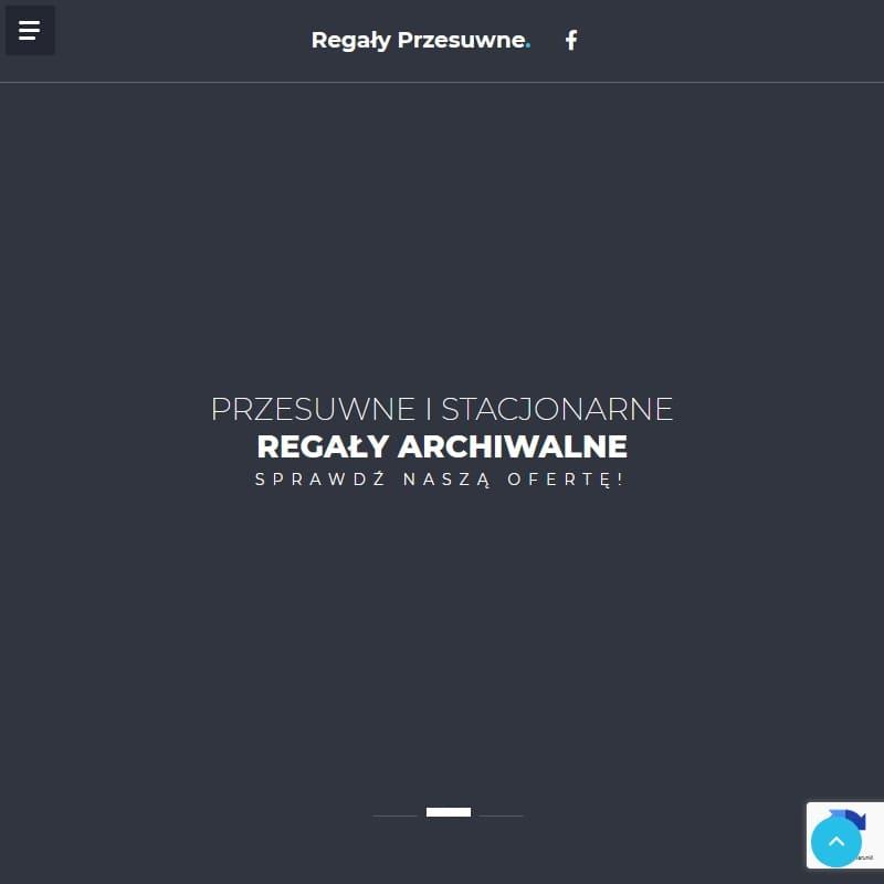 Szafa skrytkowa lub regał do archiwum