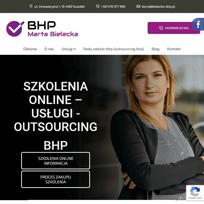 Szkolenie BHP przez Internet