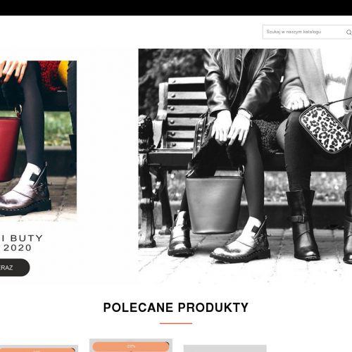 Sneakersy damskie na grubej podeszwie