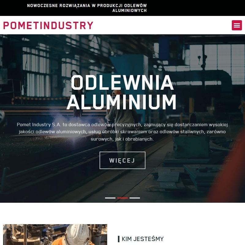 Produkcja odlewów piaskowych z aluminium