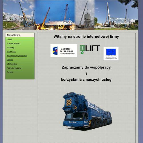 Usługi dźwigowe na terenie Gdańska i Gdyni