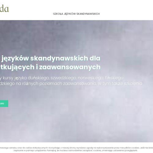Kursy języka duńskiego i islandzkiego