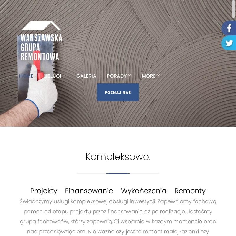 Zlecenia remontowe w Warszawie
