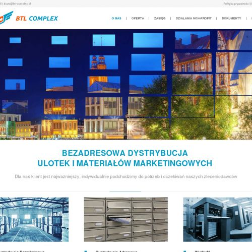 Kolportaż ulotek w Katowicach