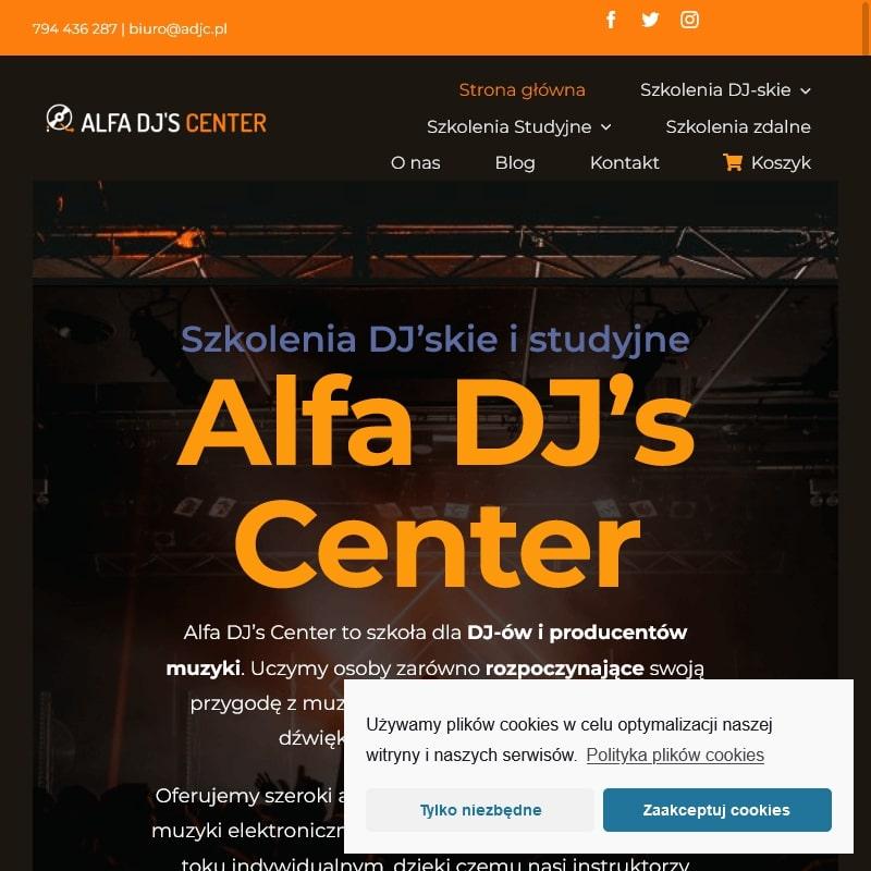 Nauka miksowania muzyki i kursy dla dj w Krakowie