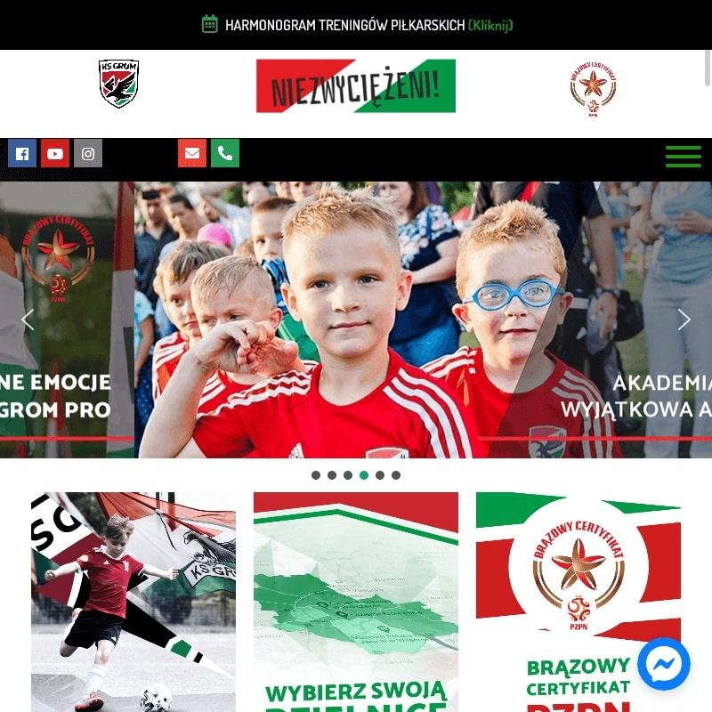 Akademia piłkarska w Warszawie