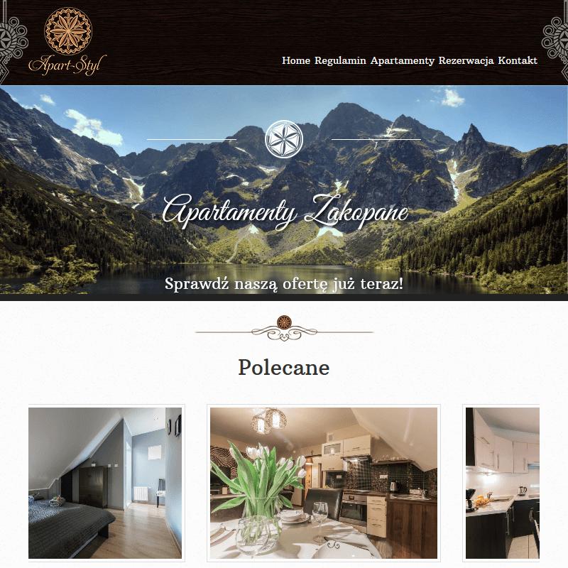 Luksusowe apartamenty w górach