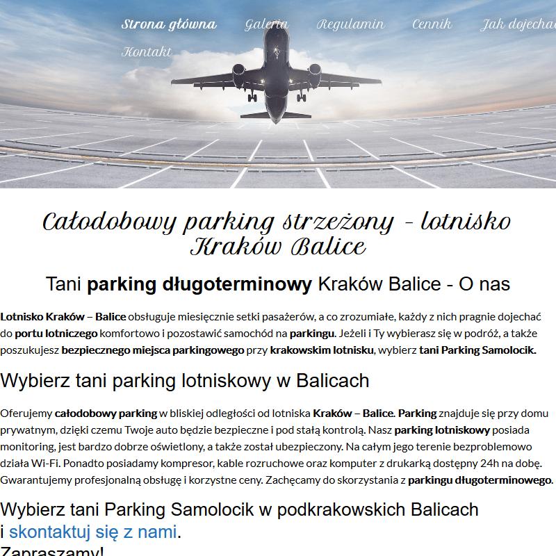 Całodobowy parking - Kraków