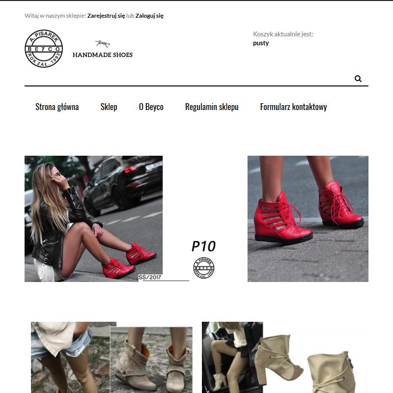 Białe sneakersy na koturnie - Sklep internetowy