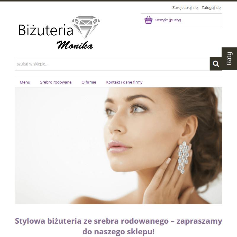 Biżuteria srebrna -  Sklep internetowy