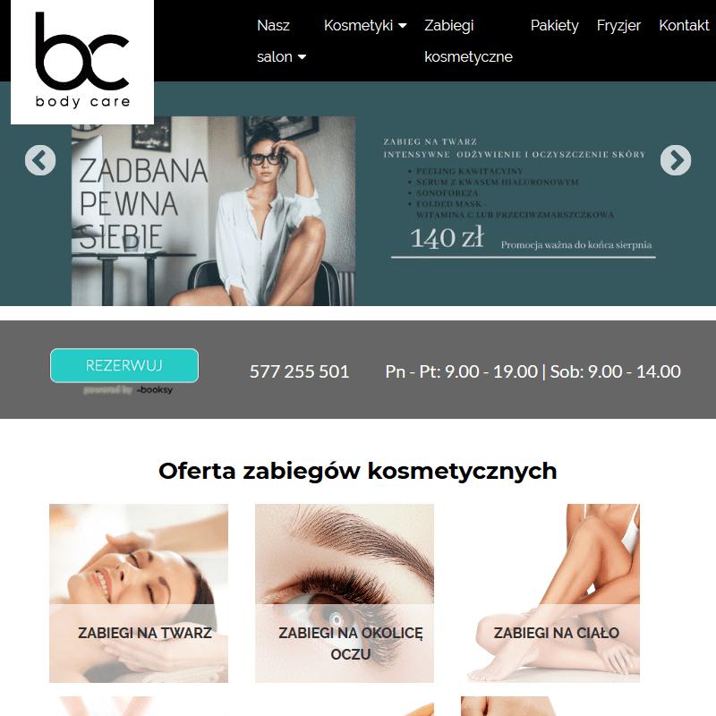 Zabiegi kosmetyczne - Kraków