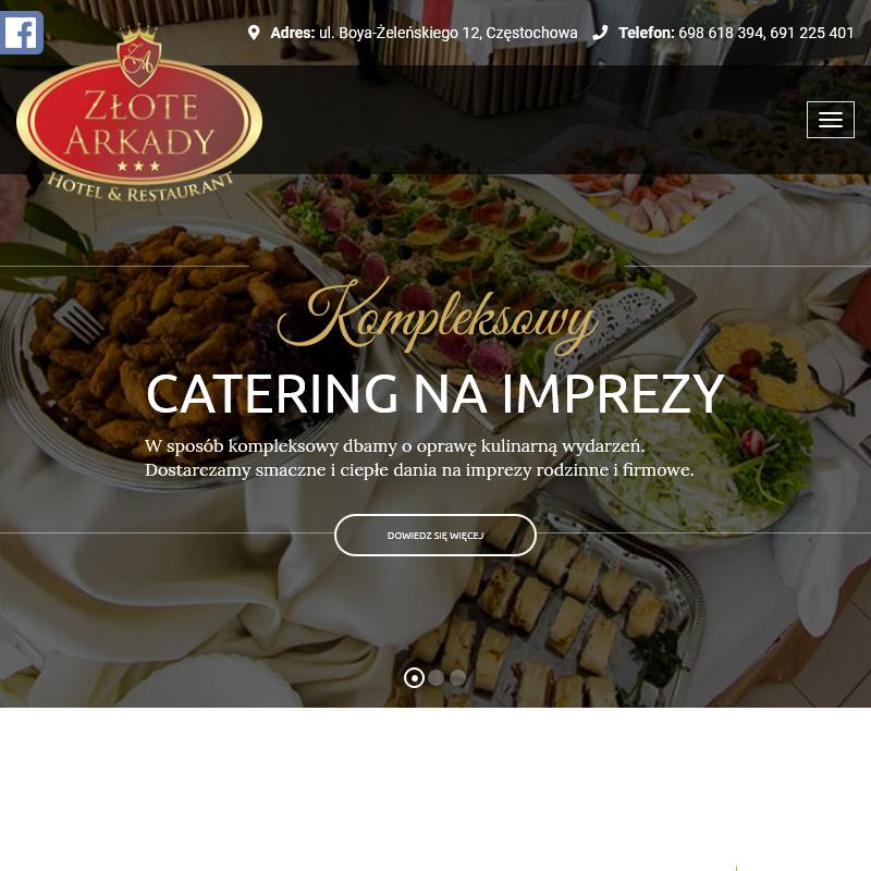 Catering do domu - Częstochowa
