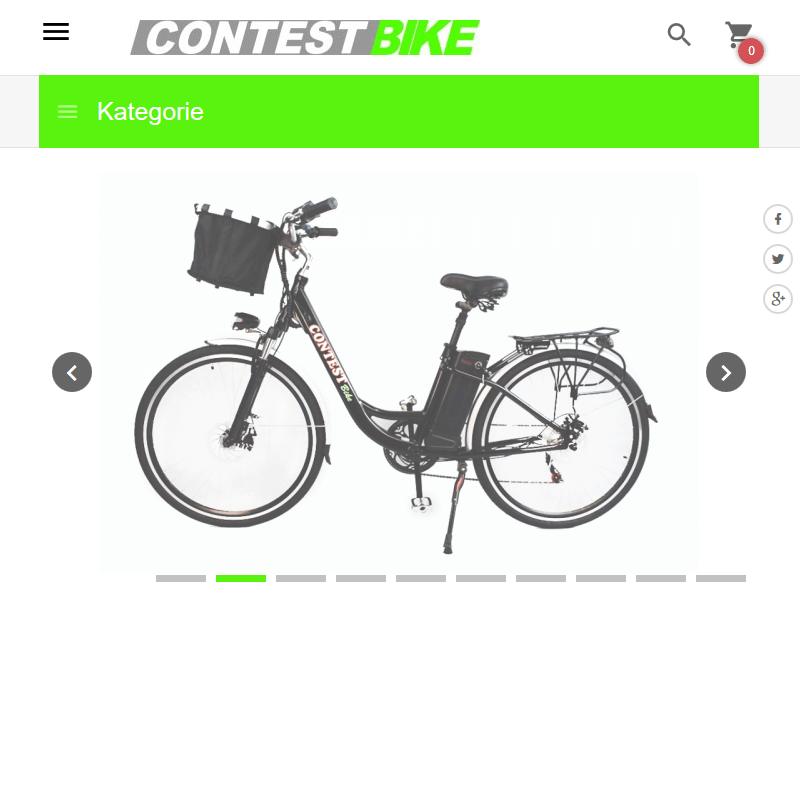 Rower napędzany silnikiem