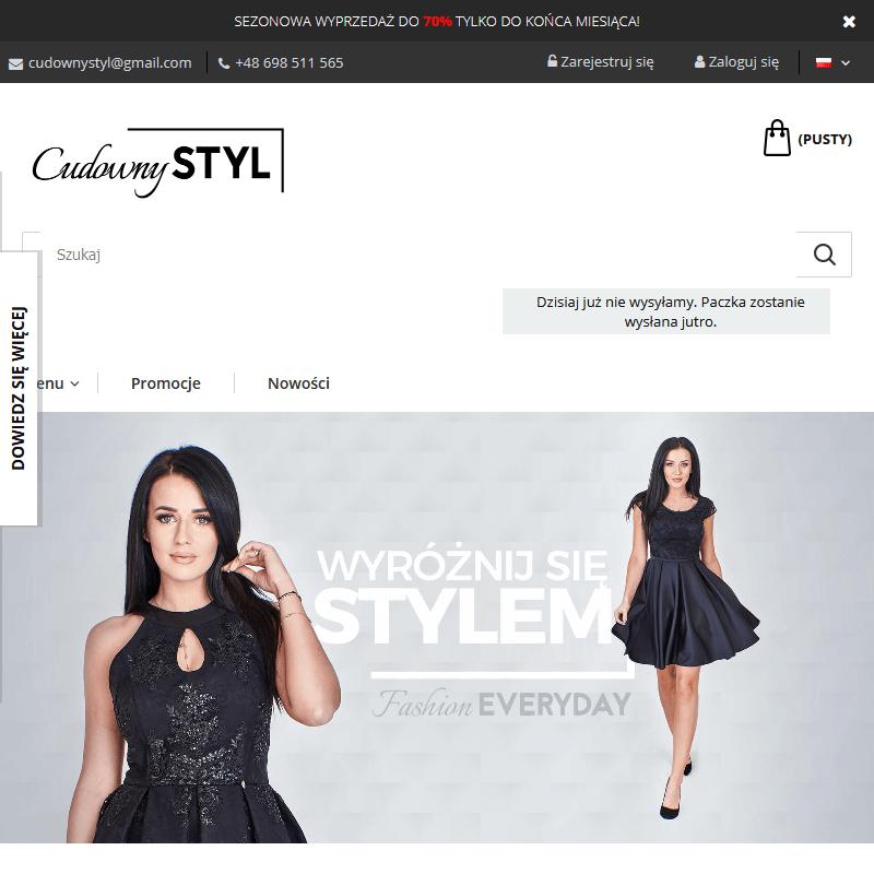 Ubrania damskie online