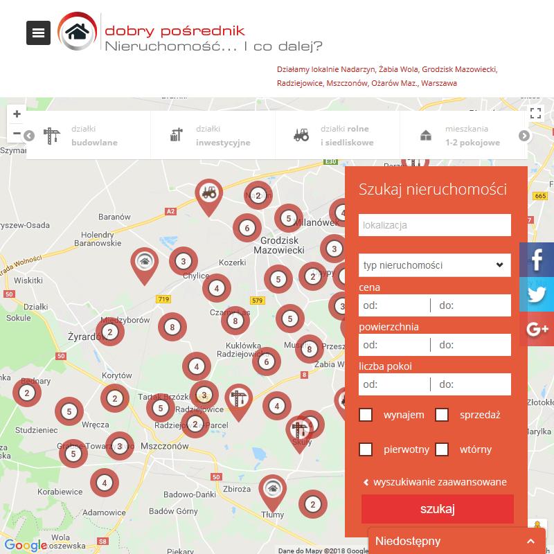 Działki usługowo-przemysłowe - Warszawa
