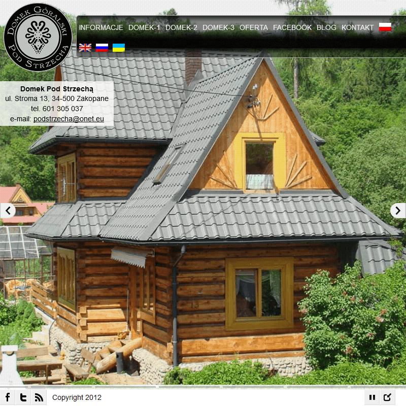 Wyposażony dom góralski do wynajęcia - Zakopane