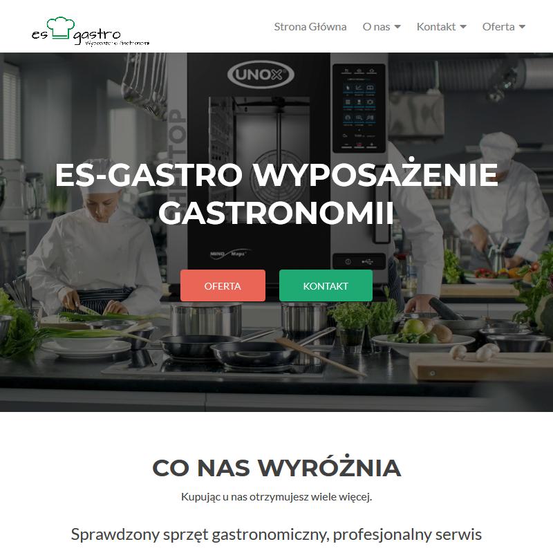 Wyposażenie lokali gastronomicznych