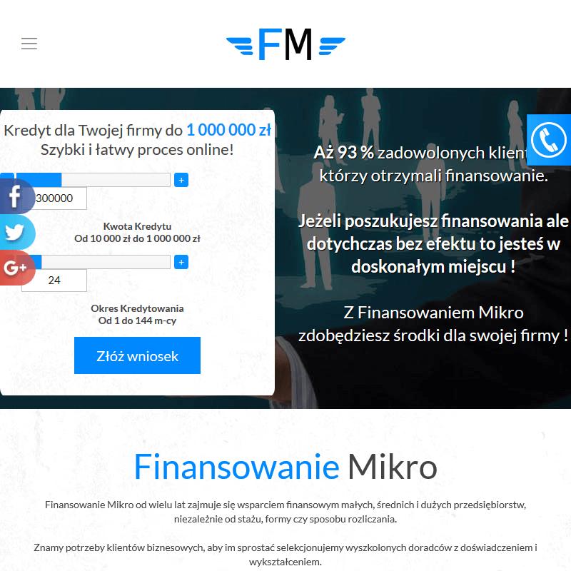 Finansowanie dla małych firm