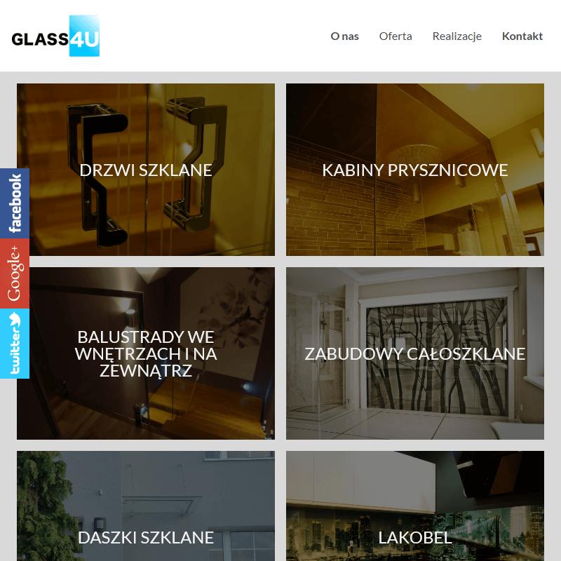 Balustrady szklane zewnętrzne Toruń