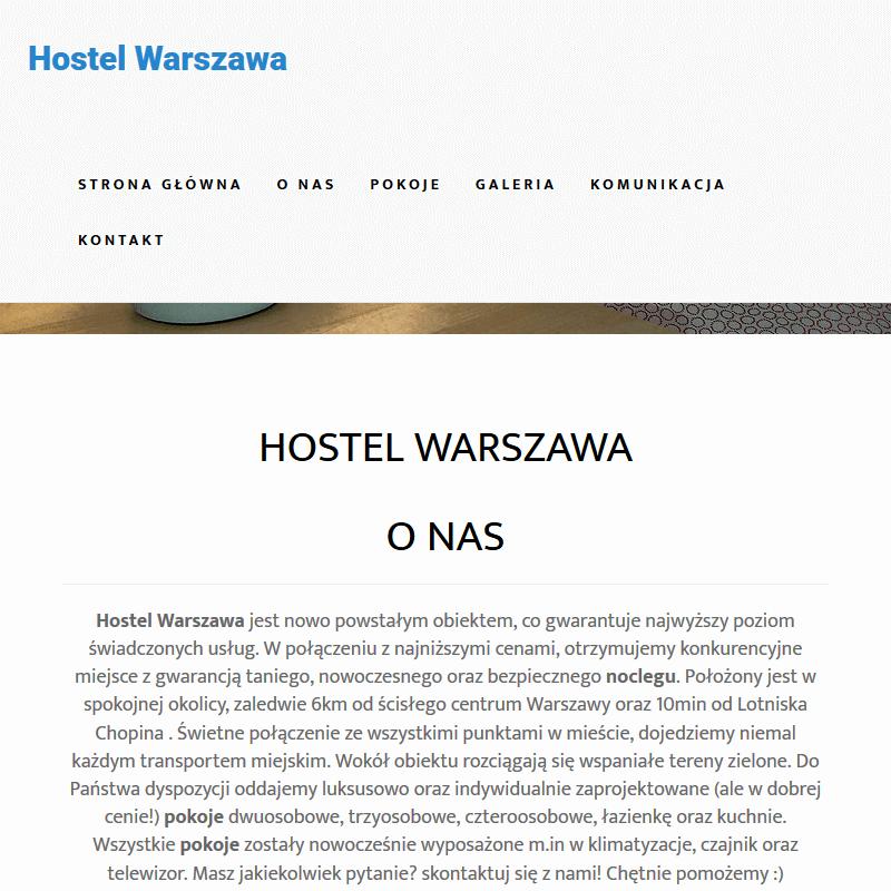 Najlepszy hostel Warszawa