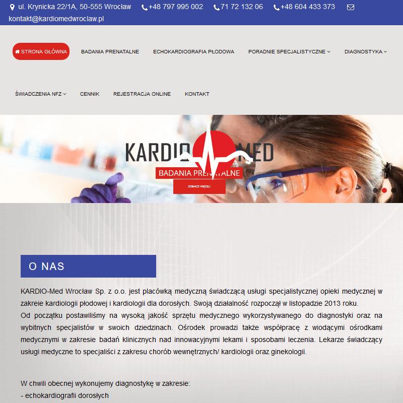 Diagnostyka kardiologiczna - Wrocław