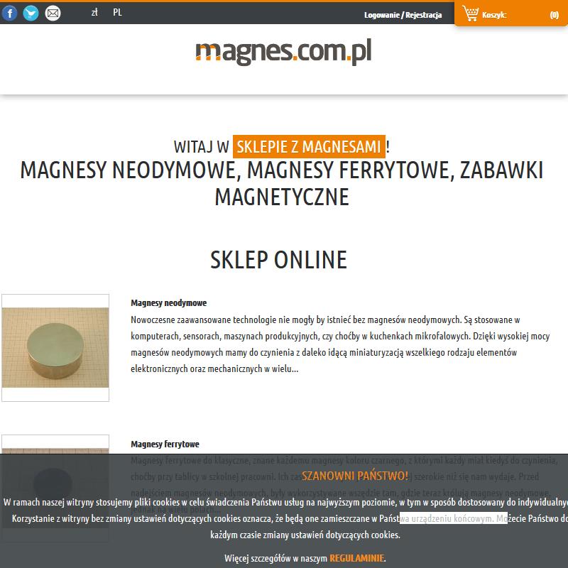 Magnesy na zamówienie