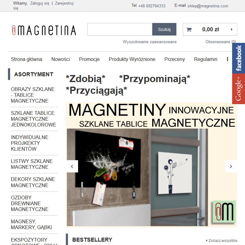 Magnesy ozdobne